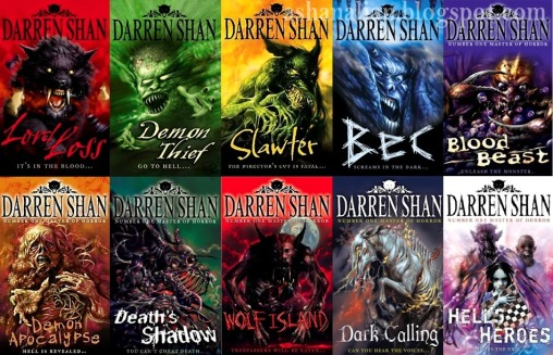Darren Shan The Demonata Series Collage